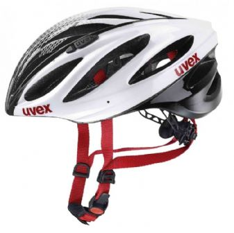 Casque BOSS RACE blanc UVEX